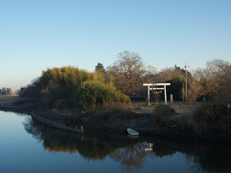 橋は福来橋といいます