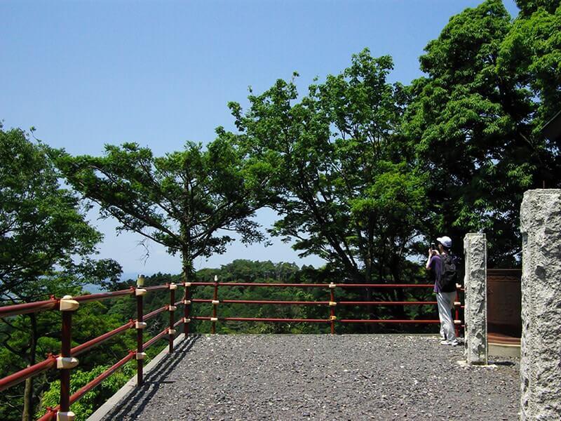 真弓神社の見晴らしは素晴らしいです