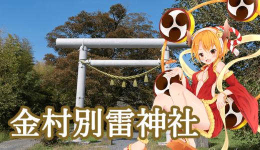 関東三雷神 金村別雷神社(つくば市)