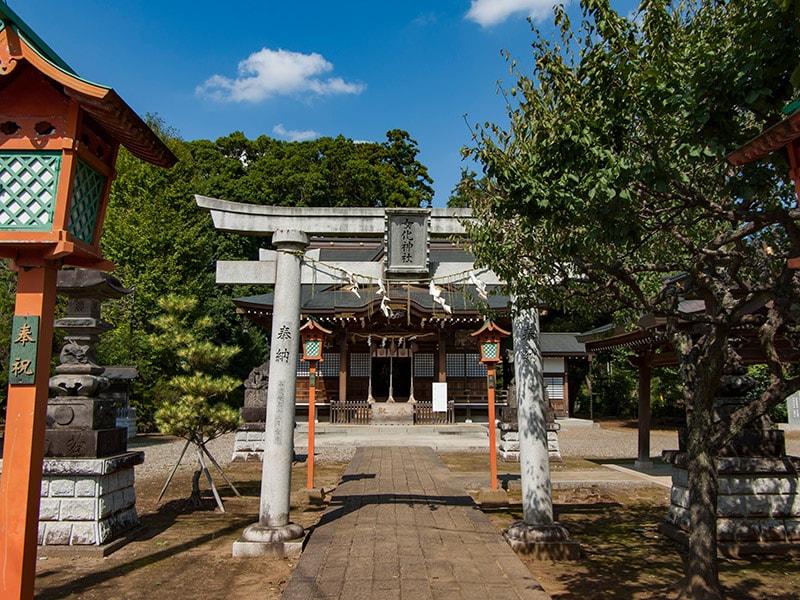女化神社鳥居