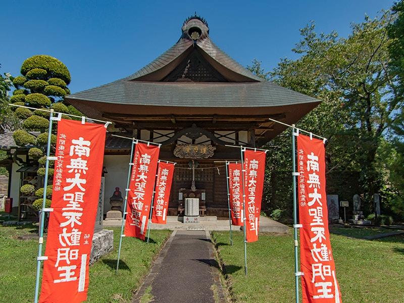 大聖寺の護摩堂