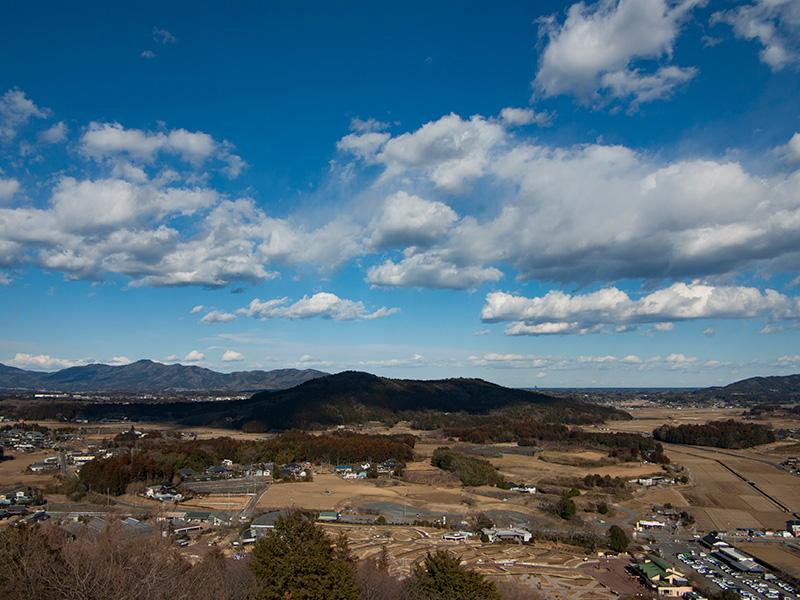 石岡の里山風景