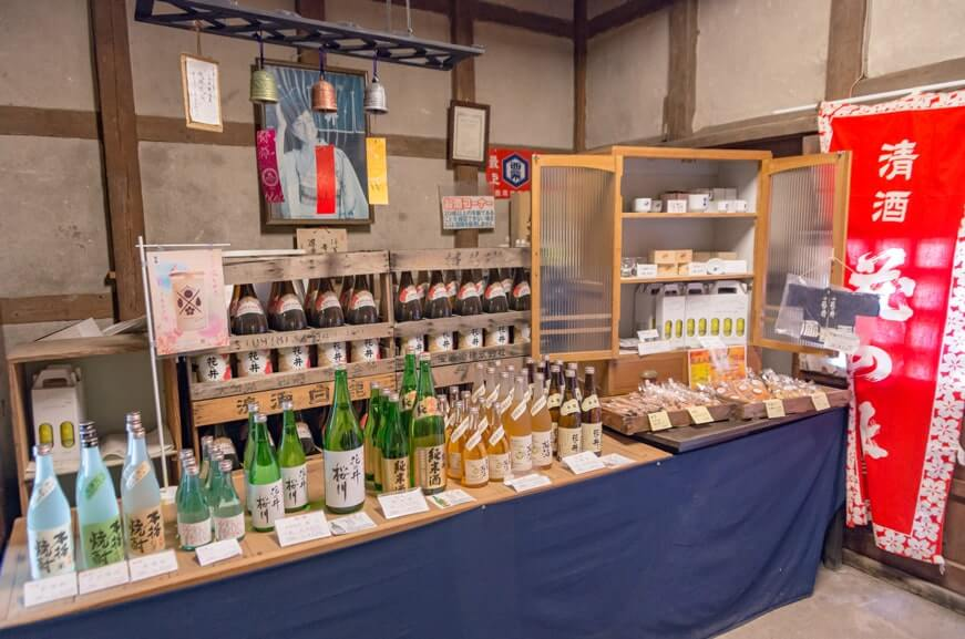 日本酒の販売
