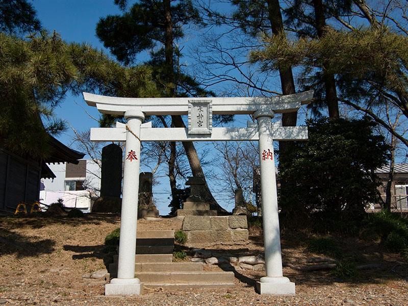 広浦公園の水神宮