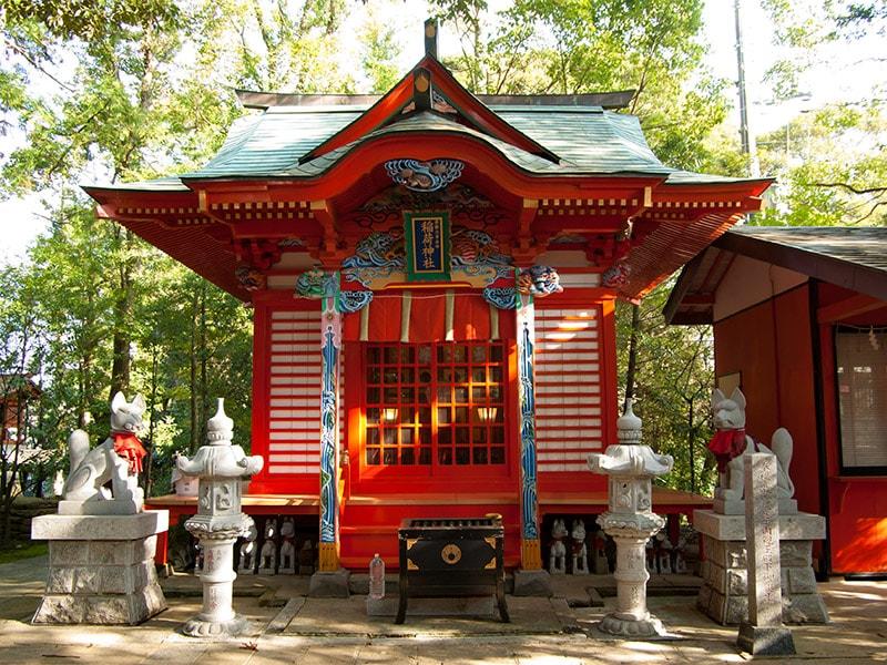最勝立身出世稲荷大明神の社殿