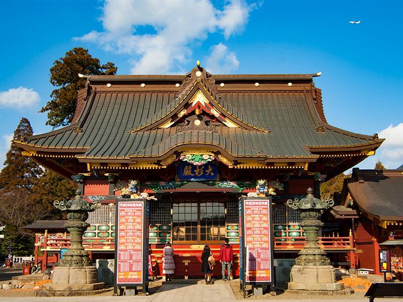 大杉神社本殿1