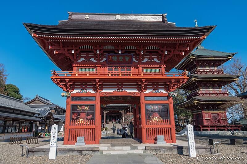 楼門(昭和49年に茨城県指定文化財)