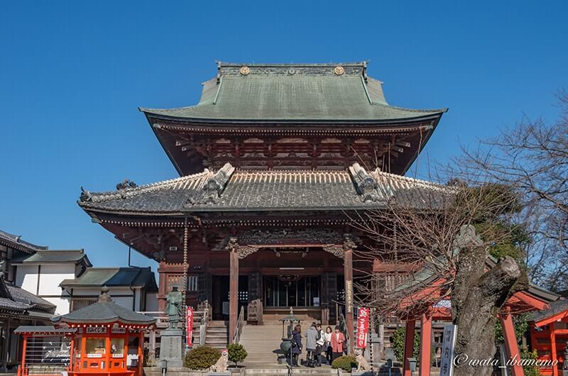 大本堂(昭和40年に茨城県指定文化財)