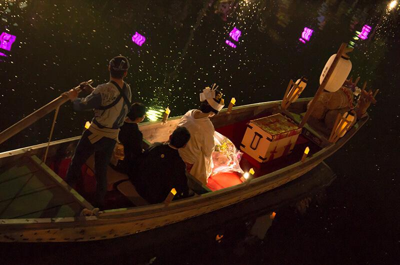 夜の嫁入り舟2