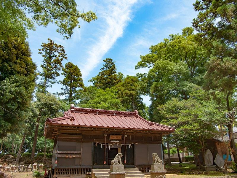阿彌神社(中郷)の拝殿