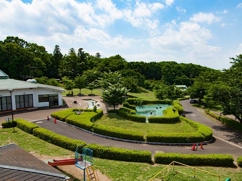 展望台から見る宮山ふるさとふれあい公園