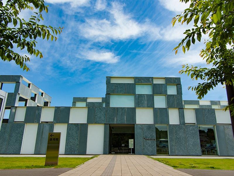 予科練平和記念館の入り口