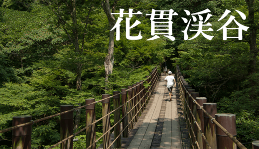 花貫渓谷の夏〜塩見滝吊橋・不動滝・乙女滝〜(高萩市)