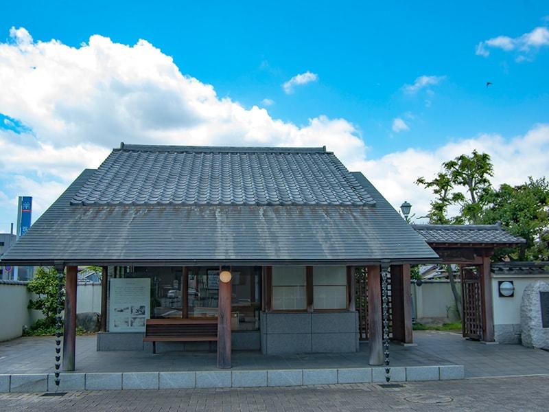 板谷波山記念館入り口