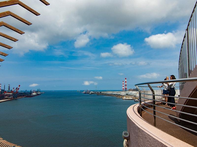 展望塔から見る太平洋2