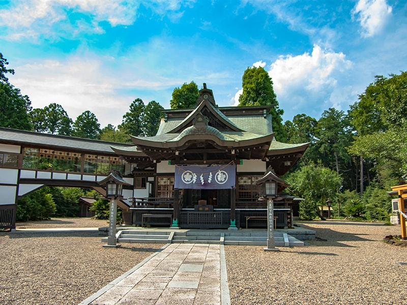 静神社社殿