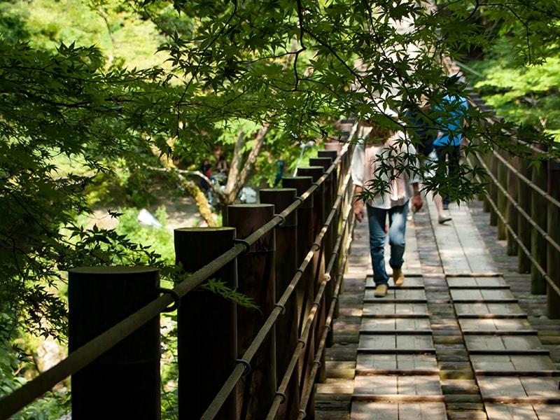 汐見滝吊り橋1
