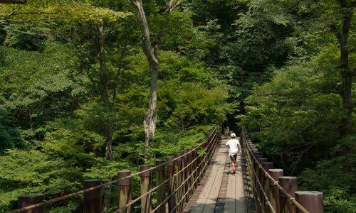 汐見滝吊り橋2