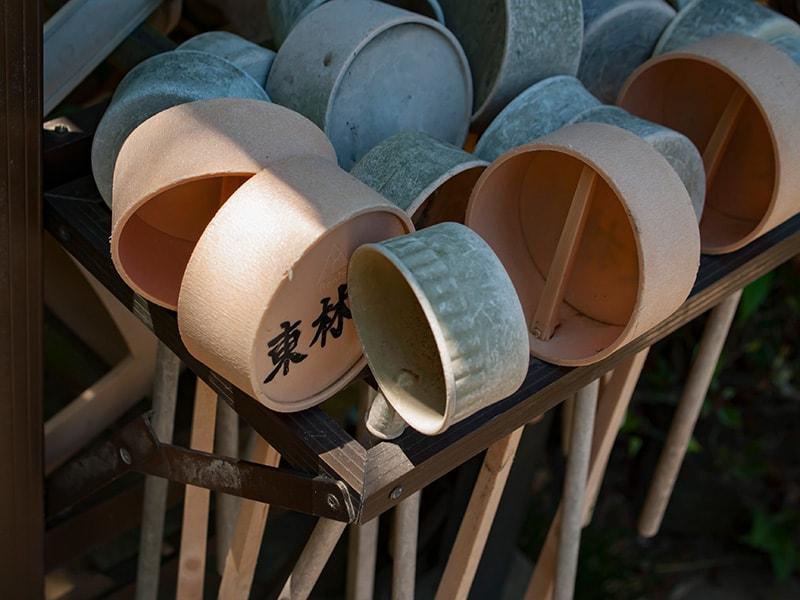 東林寺の柄杓