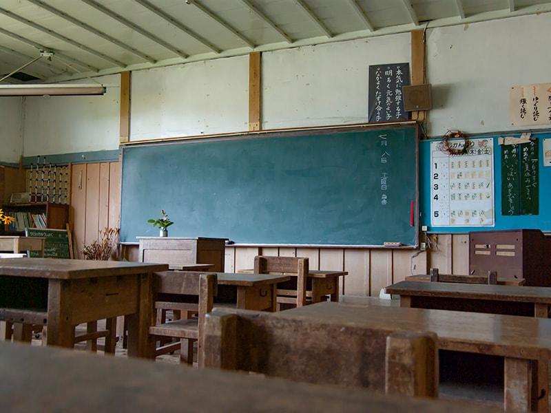上岡小学校・教室2