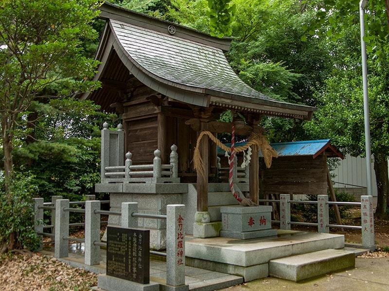 鈴木の金比羅神社社殿