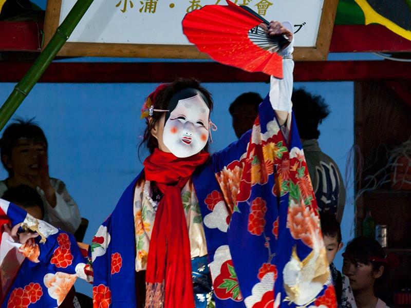幻想的な『あんばまつり』!涸沼に集結する茨城町の伝統芸能は一見の価値あり!(茨城町)