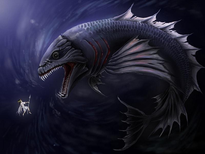 大毒魚と海神
