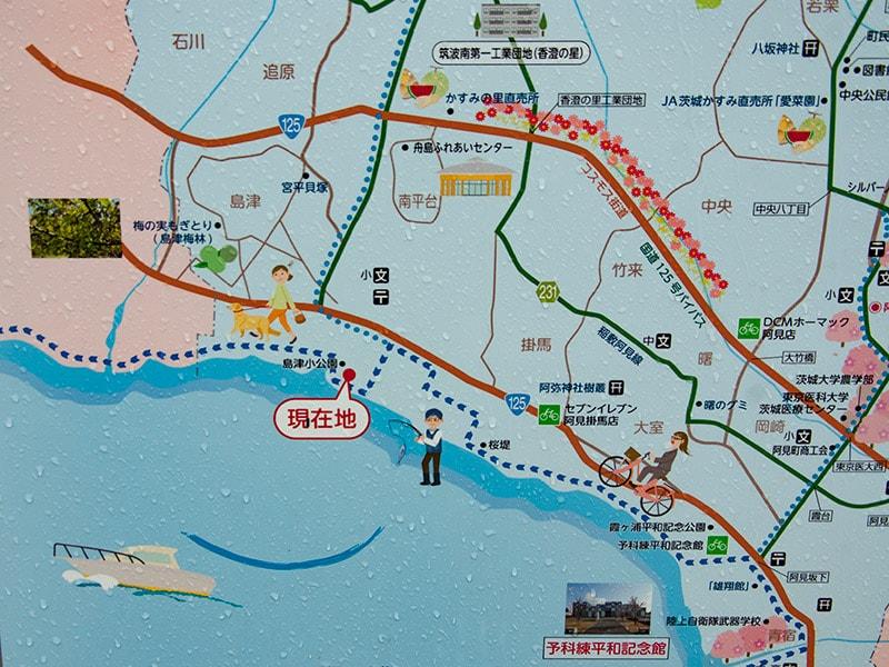 島津小公園の地図