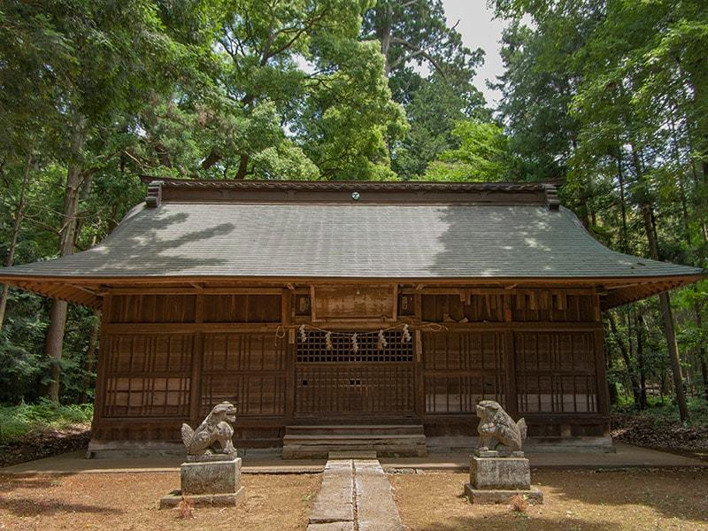 竹来の阿弥神社社殿