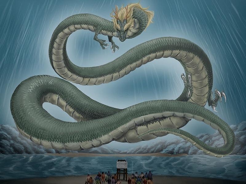 常陸利根川の竜神伝説とは!?水の大切さを教える水郷らしい物語(潮来市)