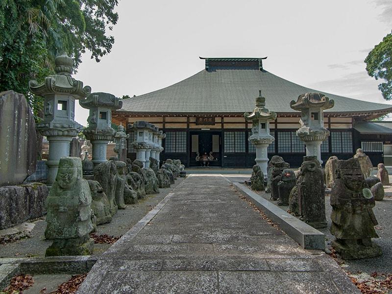 長興寺本堂
