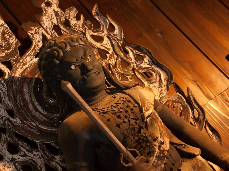 長興寺の不動明王