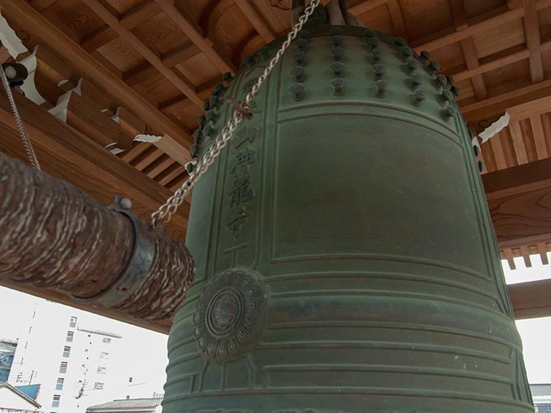 神龍寺の梵鐘