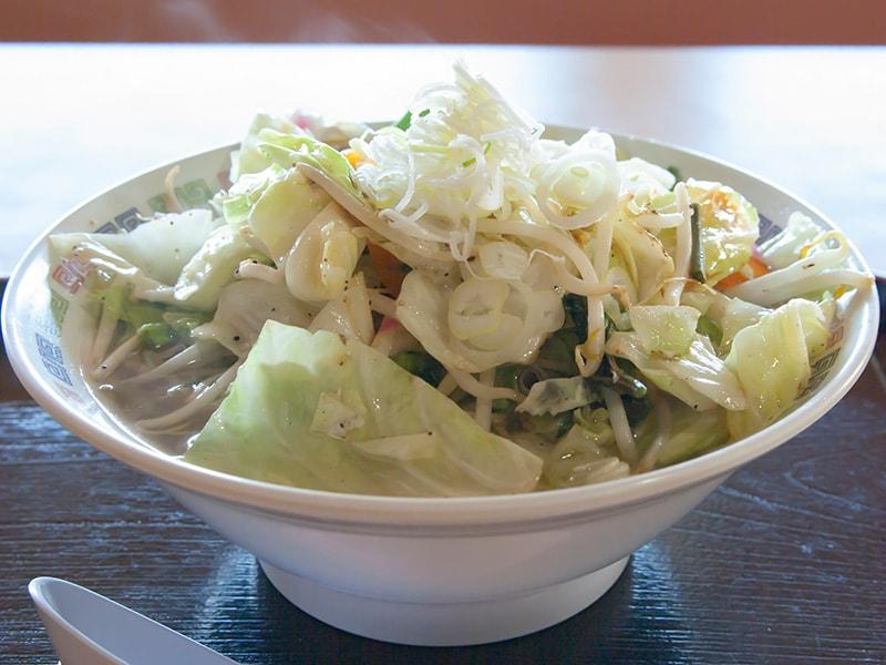 海の風名物の鉾田の野菜たっぷりタンメン