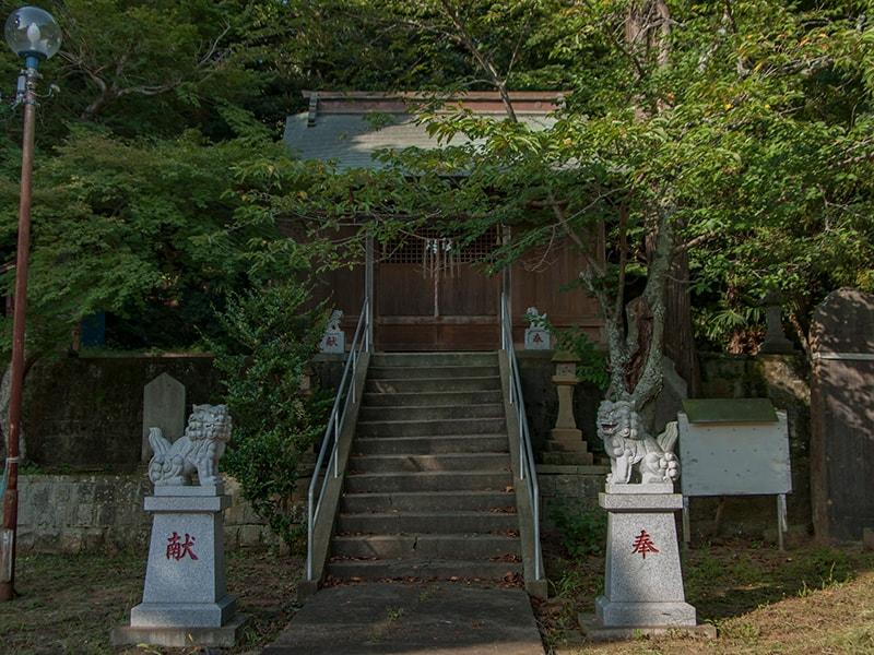 三熊野神社の社殿