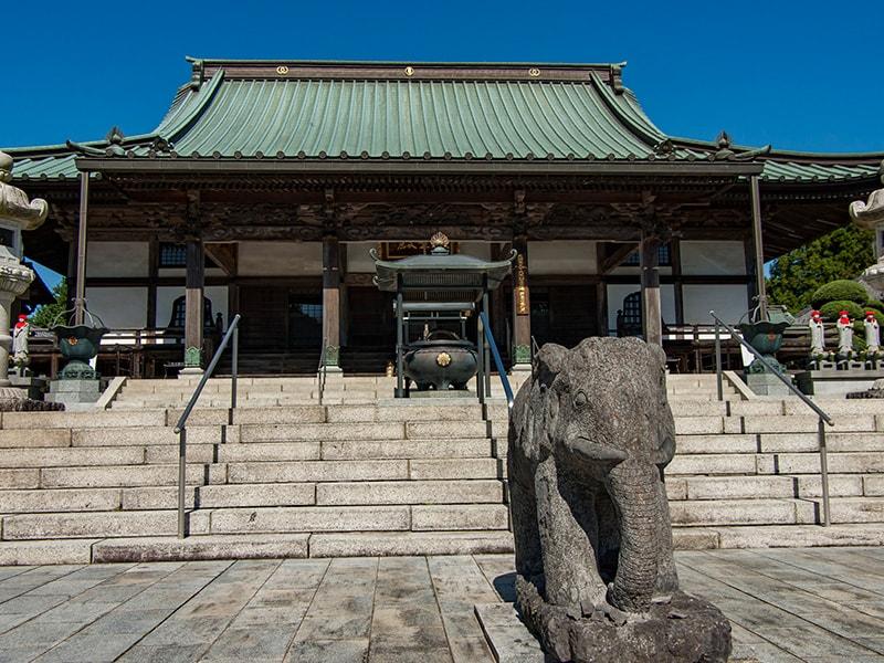 大聖寺の拝殿