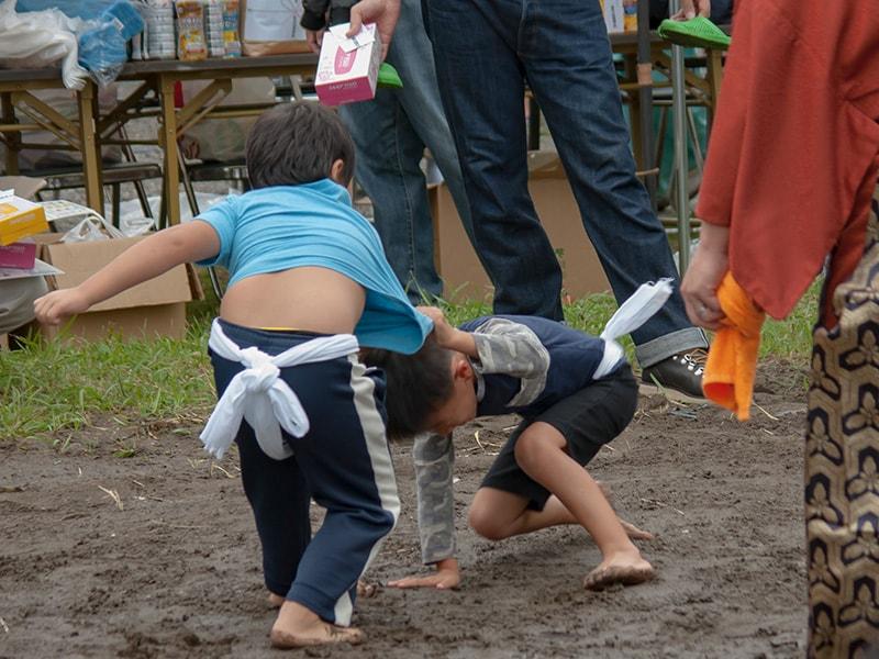 金比羅神社奉納相撲大会