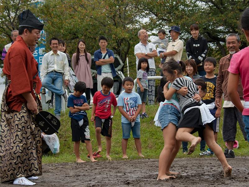 伝説の女カッパも参戦!?金刀比羅神社の奉納相撲大会を見聞してきました!(利根町)