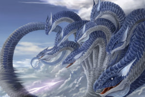 イラスト『八竜神』