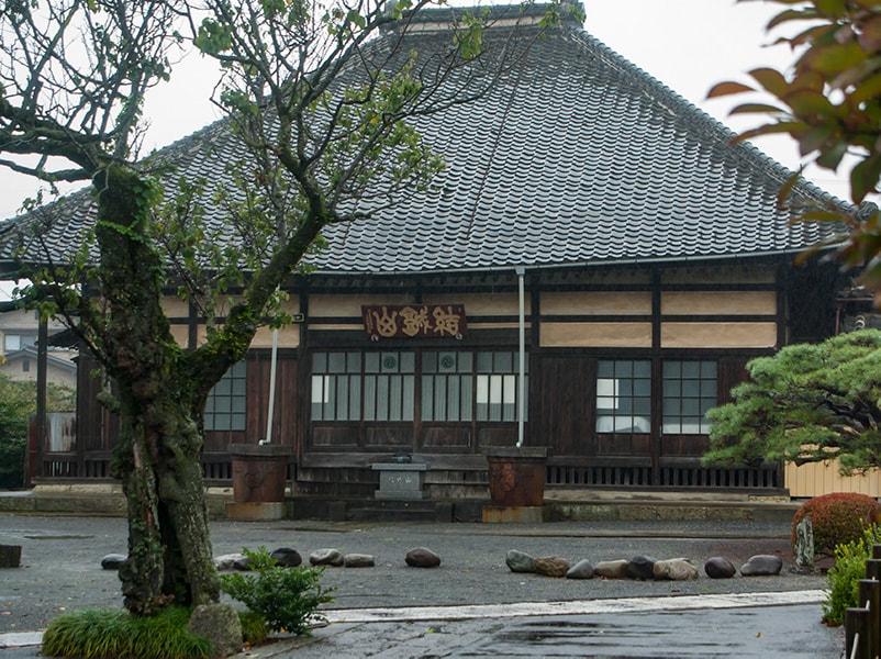 安穏寺本堂