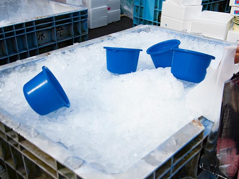 森田水産の氷