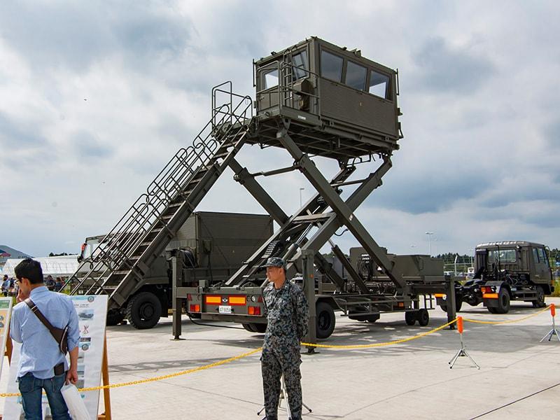 航空自衛隊・百里基地所有の移動式管制塔
