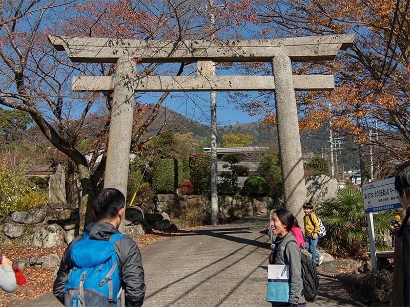 筑波山神社一の鳥居
