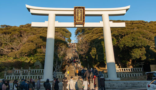 大洗磯前神社の初詣を攻略!決めては大洗鹿島線と無料のシャトルバス(大洗町)
