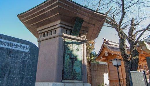 陸軍大将・乃木希典の母の霊廟は土浦の東光寺にあり(土浦市)