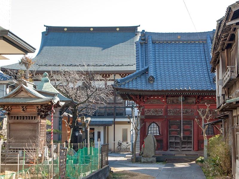 東光寺入口