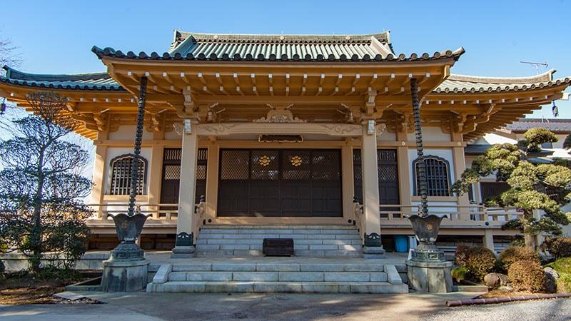 禅福寺外観
