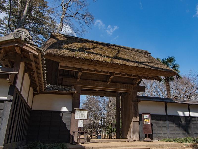坂野家住宅の薬井門