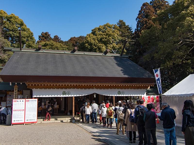 常磐神社社殿