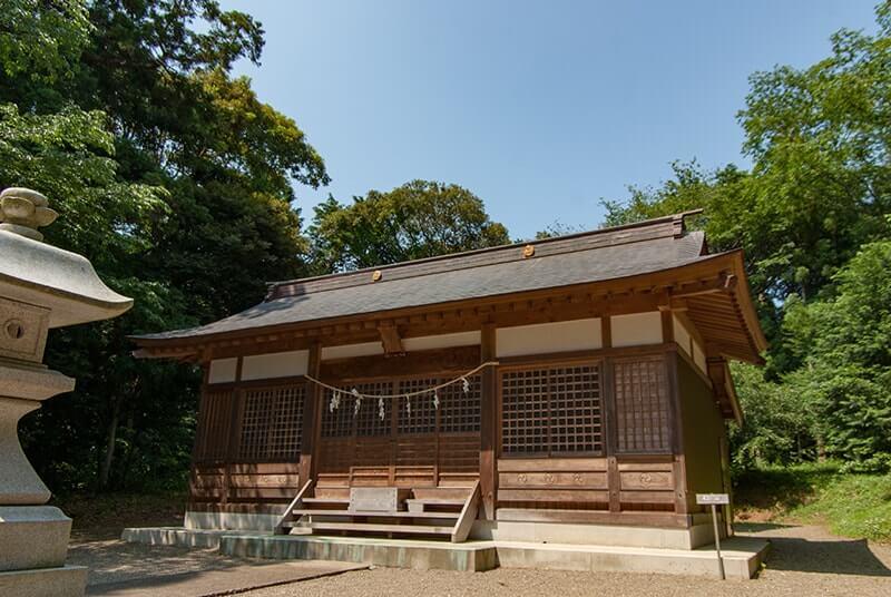 晴れの日の大宮神社